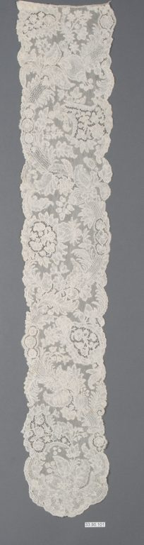 Lappet (one of a pair). mid-18th century