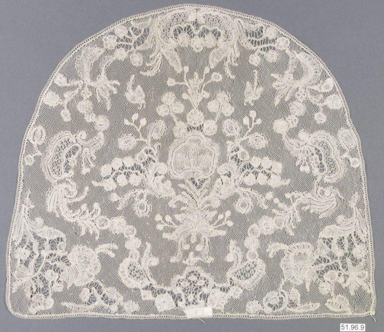 Cap crown. mid-18th century
