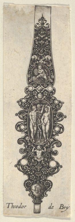 Pendant Design with Adam and Eve, from Des Pendants de Cleffs pour les Femmes