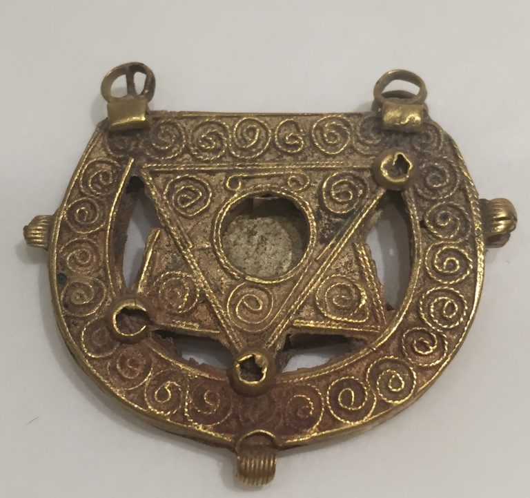Earring. <br/>probably 11th-13th century