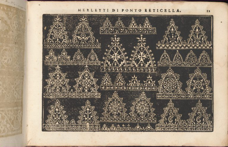 Teatro delle Nobili et Virtuose Donne..., page 8 (recto). <br/>1616