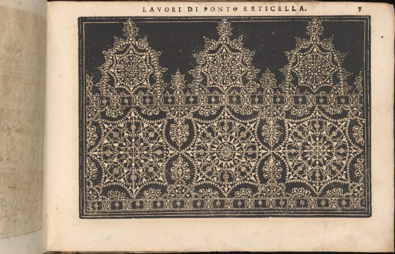 Teatro delle Nobili et Virtuose Donne..., page 9 (recto). <br/>1616