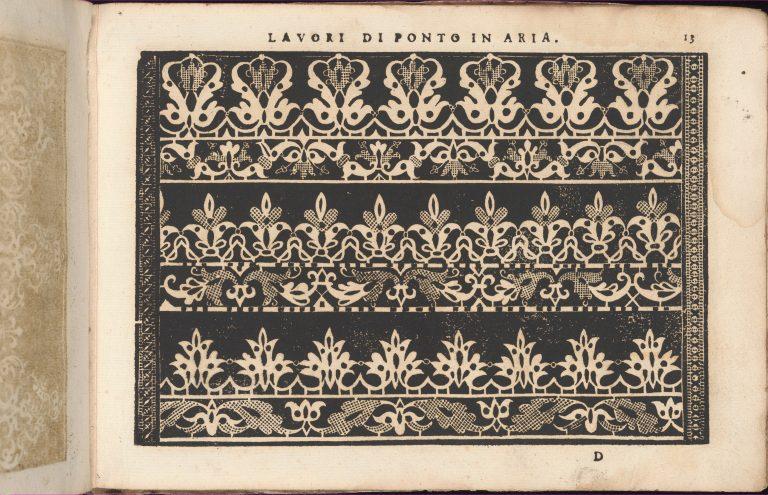 Teatro delle Nobili et Virtuose Donne..., page 13 (recto). <br/>1616