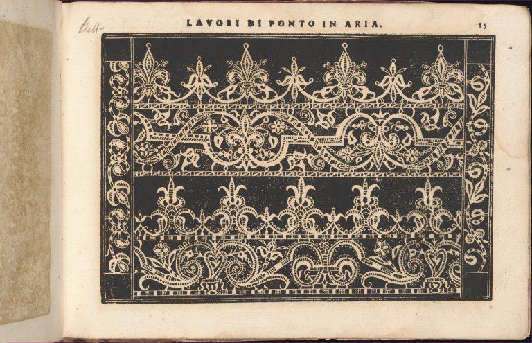 Teatro delle Nobili et Virtuose Donne..., page 23 (recto). <br/>1616