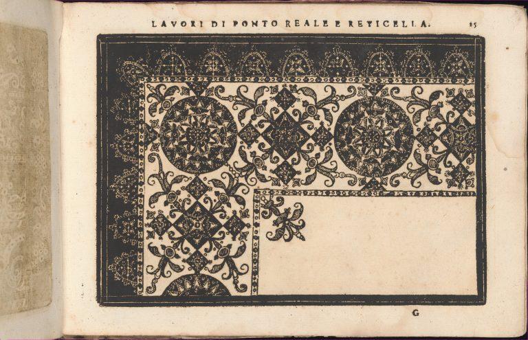 Teatro delle Nobili et Virtuose Donne..., page 25 (recto). <br/>1616