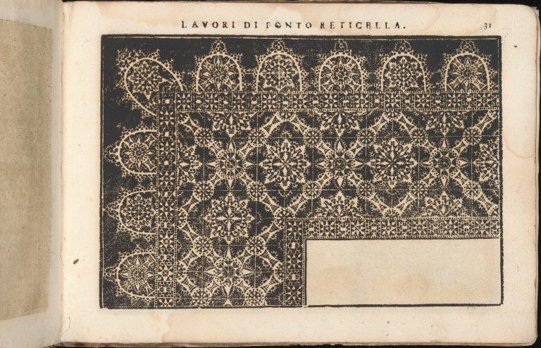 Teatro delle Nobili et Virtuose Donne..., page 33 (recto). <br/>1616