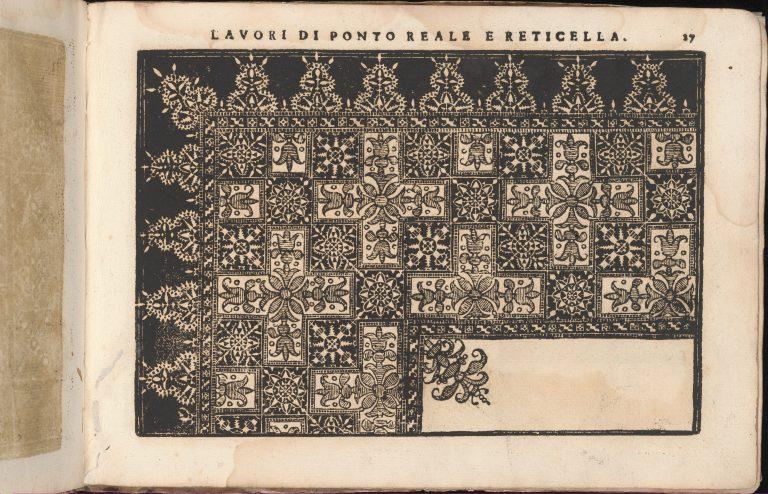 Teatro delle Nobili et Virtuose Donne..., page 35 (recto). <br/>1616