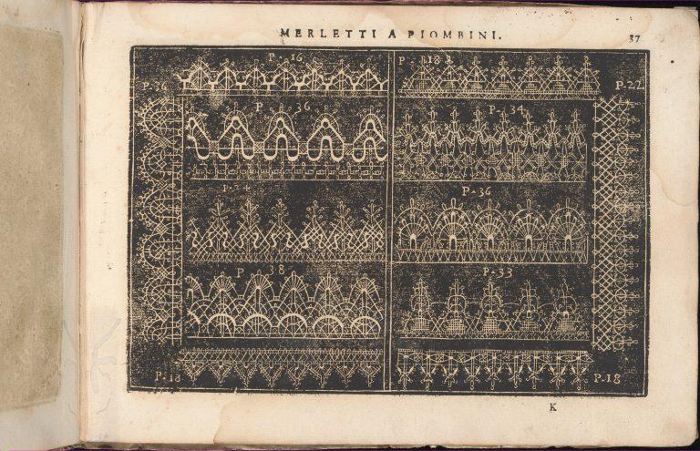 Teatro delle Nobili et Virtuose Donne..., page 37 (recto). <br/>1616