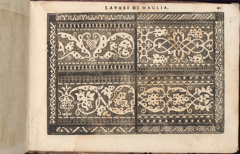 Teatro delle Nobili et Virtuose Donne..., page 40 (recto). <br/>1616