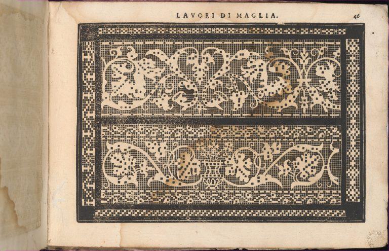 Teatro delle Nobili et Virtuose Donne..., page 42 (recto). <br/>1616
