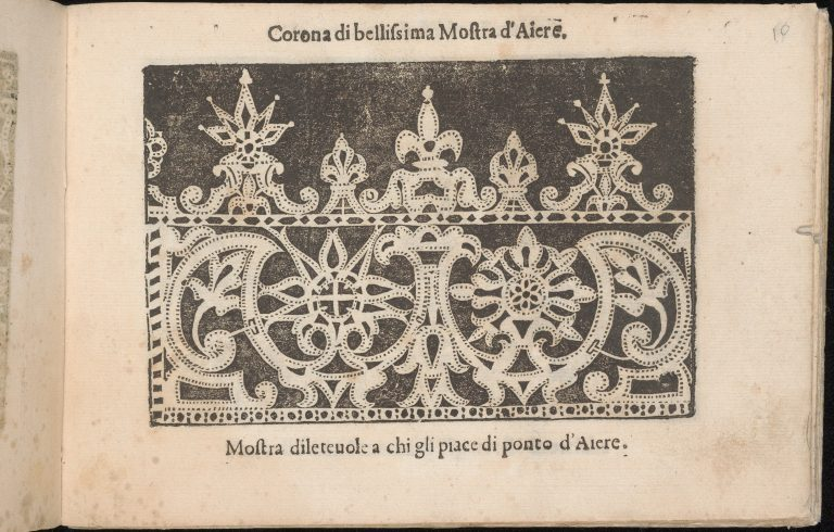 Corona delle Nobile et Virtuose Donne, Libro Terzo, page 10 (recto)
