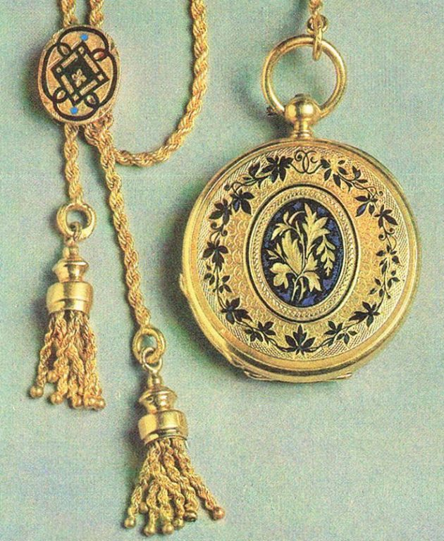 Часы. 1889 год