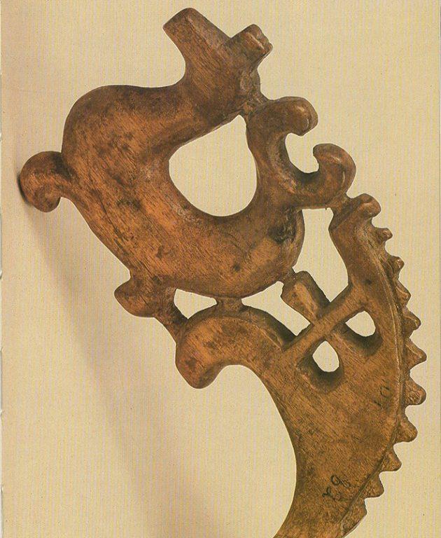 Ковш-наливка. Фрагмент . 18 век